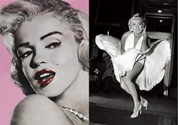 40 Units of 3D Picture Marilyn Monroe - Home Decor