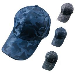 36 Units of Army Camo Hat Assortment - Baseball Caps & Snap Backs