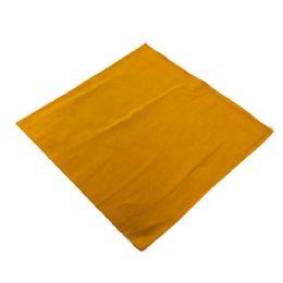 60 Units of Bandana Solid Gold - Bandanas