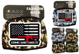 24 Units of Come and Take It Face Mask Camo - Face Mask