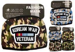 24 Units of Korean War Veteran Face Mask Camo - Face Mask