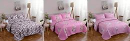 10 Units of Queen Size Quilt and Pillow Sham Set - Comforters & Bed Sets