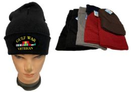 24 Units of Mix Color Winter Beanie Gulf War Veteran - Winter Beanie Hats