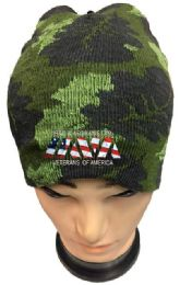 36 Units of Iraq And Afghanistan Veterans Camo Winter Beanie - Winter Beanie Hats