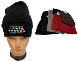 36 Units of Iraq And Afghanistan Veterans Mix Color Winter Beanie - Winter Beanie Hats