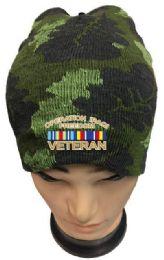 36 Units of Operation Iraqi Freedom Veteran Camo Winter Beanie - Winter Beanie Hats