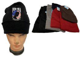 36 Units of Pow Mia Mix Color Winter Beanie - Winter Beanie Hats