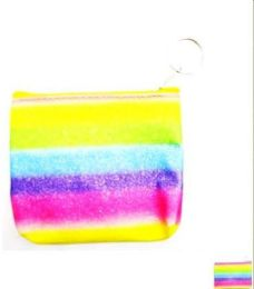 96 Units of Rainbow Color Coin Purse - Wallets & Handbags