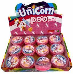 144 Units of Unicorn Slime Putty - Slime & Squishees