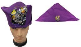 36 Units of Purple Bandana Kobe Bryant style - Bandanas