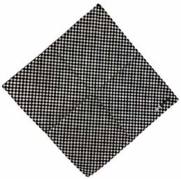72 Units of Bandana Black White Checkerboard - Bandanas