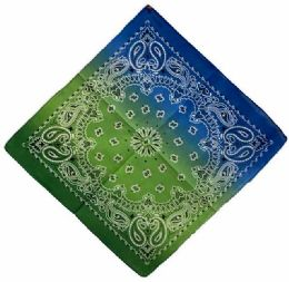 72 Units of Tie Dye Style Bandana - Bandanas