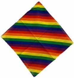 72 Units of Rainbow Bandana - Bandanas