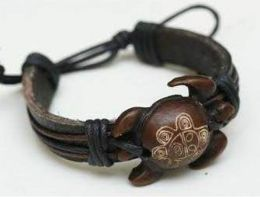 60 Units of Turtle Faux Leather Bracelet - Bracelets