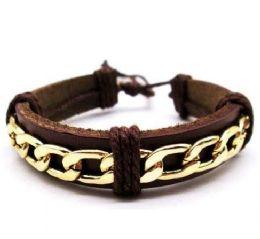 120 Units of Faux Leather Bracelet - Bracelets