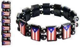96 Units of Puerto Rico Magnetic Hematite Bracelet - Bracelets