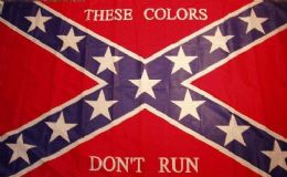 24 Units of Rebel Confederate Flag Those Colors Dont Run - Signs & Flags