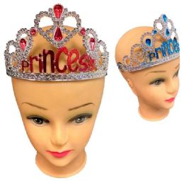 96 Units of Princess Crown - Party Hats & Tiara