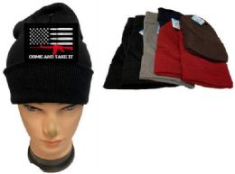 24 Units of Come and Take Mix Color Winter Beanie Coming - Baseball Caps & Snap Backs