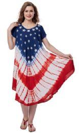 12 Units of Plus Size USA Rayon Umbrella Dresses - Womens Sundresses & Fashion