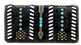 4 Units of Montana West Aztec Collection Wallet Wristlet - Wallets & Handbags