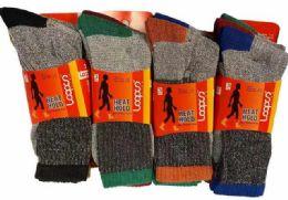 72 Units of Man Thermal Socks - Mens Thermal Sock