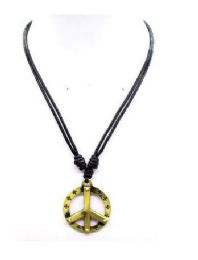120 Units of Peace Sign Necklacea - Necklace