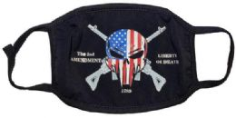 24 Units of Liberty Or Death Face Cover - Face Mask