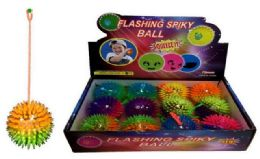 72 Units of Spike Light Up Ball - Light Up Toys