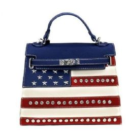 2 Units of Montana West American Pride Collection Satchel Crossbody - Shoulder Bags & Messenger Bags