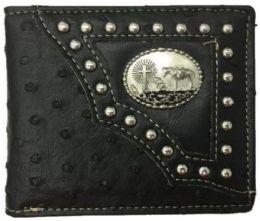 12 Units of Praying Horse Western Bi Fold Wallet - Wallets & Handbags
