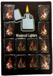 24 Units of Lighters Girl With Flame - Lighters