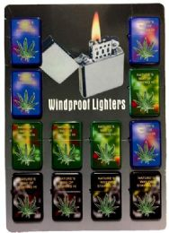 24 Units of Nature's Way Of Staying Hi Refillable Lighter - Lighters
