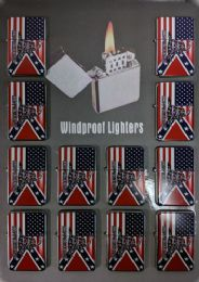 24 Units of Windproof Lighter Don't Tread On Me Combo Flag - Lighters