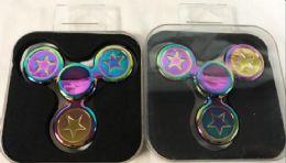 36 Units of Rainbow Stars Alloy Metal Fidget Spinners - Fidget Spinners