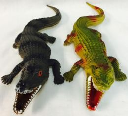 48 Units of Rubber Alligator with squeaky sound - Animals & Reptiles