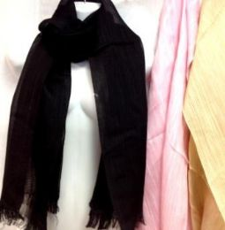 60 Units of Solid Color Scarves Assorted - Winter Scarves