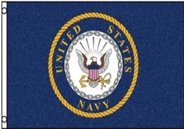 12 Units of Officially Licensed United States Navy Flag - Signs & Flags