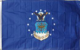 12 Units of Official Licensed Us Air Force Flag - Signs & Flags