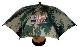 36 Units of Camo No More Bullshit Umbrella Hat - Umbrellas & Rain Gear