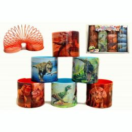 24 Units of Dinosaur Slinky - Slime & Squishees