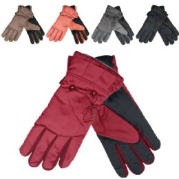 48 Units of Women Cold Weather Ski Gloves - Ski Gloves
