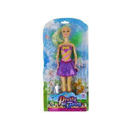 12 Units of Pretty Fairy Doll - Dolls