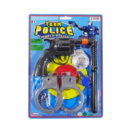 24 Units of Team Police Play Set - Toy Weapons