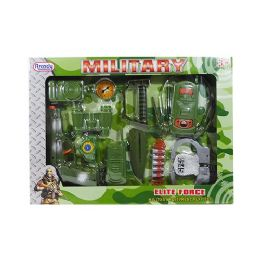 24 Units of Military Elite Force Play Set - Toy Weapons
