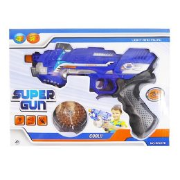 36 Units of Light Up Super Gun With Sound - Toy Weapons