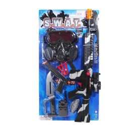12 Units of Swat Play Set - Toy Weapons