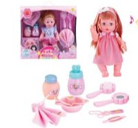 10 Units of BEAUTY BABY DOLL WITH SOUND AND ACCESORIES - Dolls
