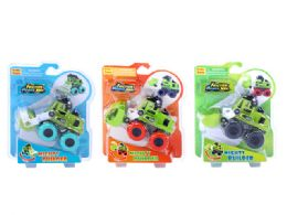 48 Units of Friction Mighty Builder - Cars, Planes, Trains & Bikes
