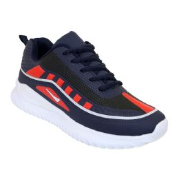 12 Units of Men's Casual Sneakers In Navy - Men's Sneakers